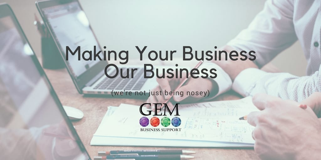 Making Your Business Our Business